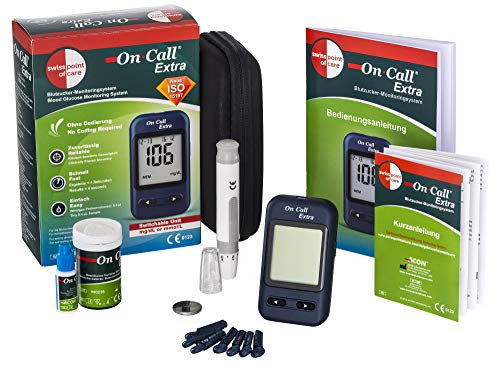 Swiss Point Of Care On Call Extra Starterpack | Glucose-Messgerät...