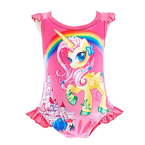 Lito Angels Einhorn Little Pony Badeanzug Einteiler für Kinder...