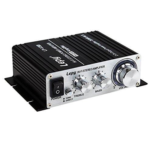LEPY LP-VS3 25Wx2 Verstärker + HiFi verzögert Schutz + 5A Power...