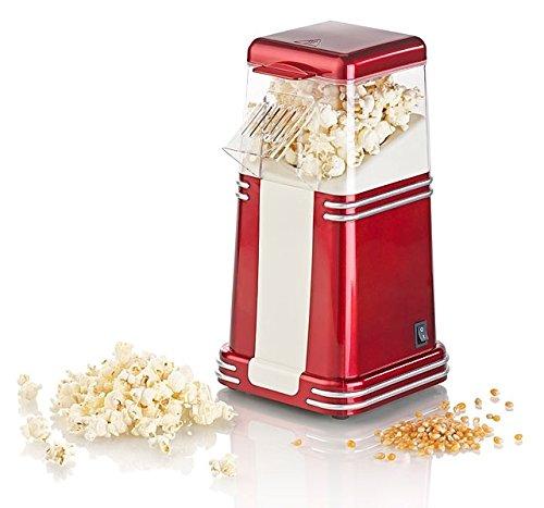Rosenstein & Söhne Popkornmaschine: XL-Heißluft-Popcorn-Maschine...