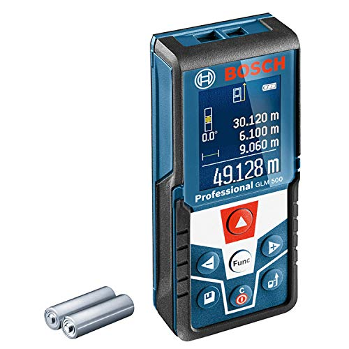 Bosch Professional Laser Entfernungsmesser GLM 500 (Arbeitsbereich:...