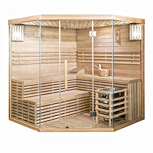 Home Deluxe - Traditionelle Sauna - Skyline XL Big - Holz:...