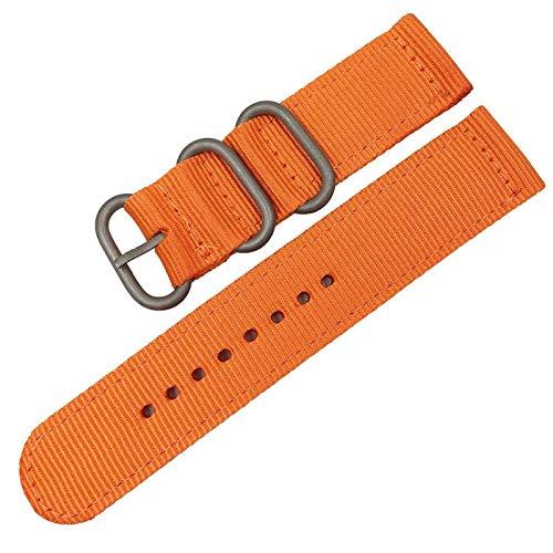WNFYES Nylon Uhrenarmbänder 18mm 20mm 22mm 24mm Nylon Armbandband...