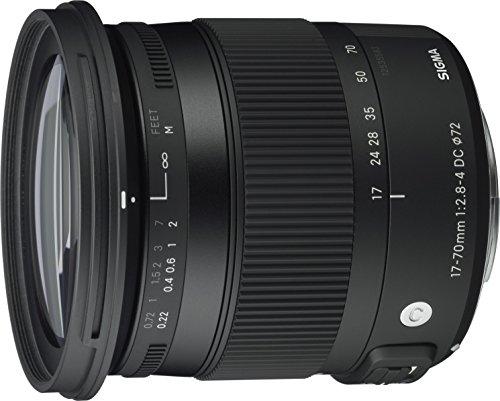 Sigma 17-70 mm f2,8-4,0 Objektiv (DC, Makro, OS, HSM, 72 mm...