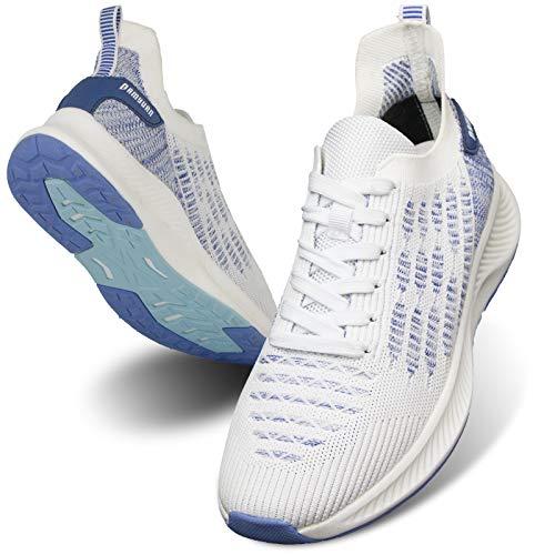 MGNLRTI Herren Sneaker Walkingschuhe Atmungsaktiv Straßenlaufschuhe...