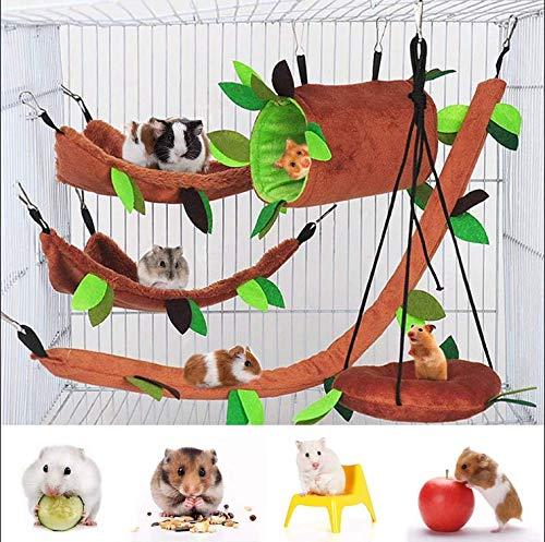5 Stück Hamsterkäfig Meerschweinchen Käfig Zubehör, Frettchen...