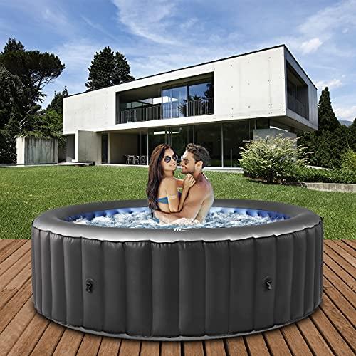 Miweba MSpa aufblasbarer Whirlpool 2021 Comfort Bergen C-BE041 - für...