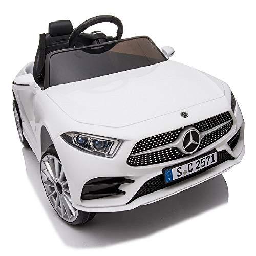 crooza Mercedes-Benz CLS350 Kinderauto Weiss Kinder Elektro...