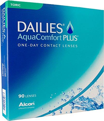 Dailies AquaComfort Plus Toric Tageslinsen weich, 90 Stück,...