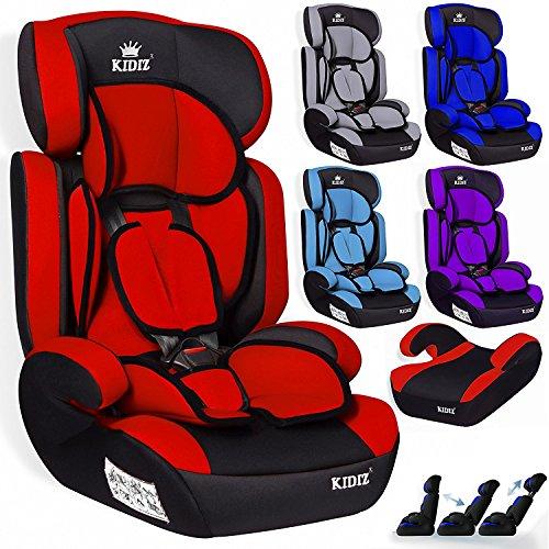 Kidiz® Autokindersitz Autositz Kinderautositz 9-36 kg Gruppe 1+2+3...