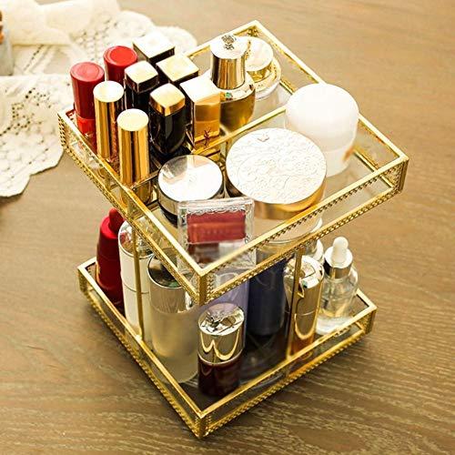 360-Grad-Drehung Make-up Veranstalter Für Lippenstift, Gold...