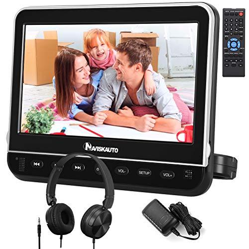 NAVISKAUTO 10,1' DVD Player für Auto Tragbarer DVD Player 1080P HD...