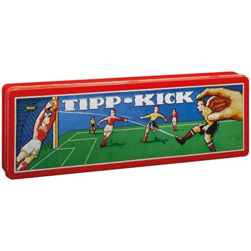 TIPP-KICK Retro 80x47 cm – Das spielfertige Set mit 2X Spieler, 2X...