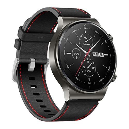 22mm Lederarmband für Huawei Uhr GT 2 PRO Armband Armband für Huawei...