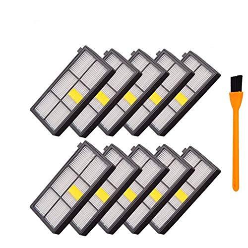 L-Yune, 10pcs Ersatzstaub Hepa-Filter for Roomba 800 Serie 900 870 880...