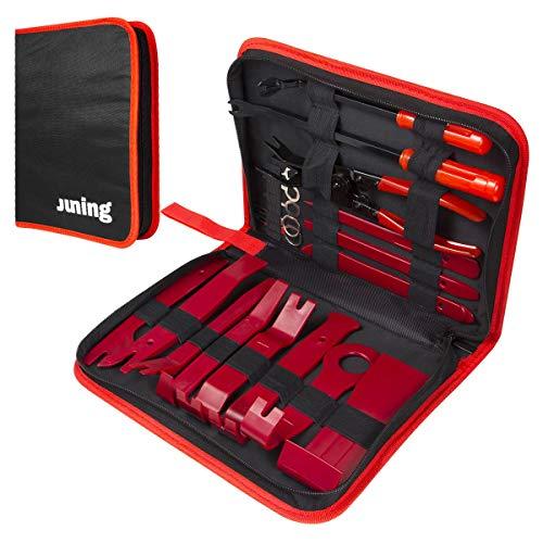 JUNING Auto Demontage Werkzeug, 19 stück, Removal Reparatur Werkzeuge...