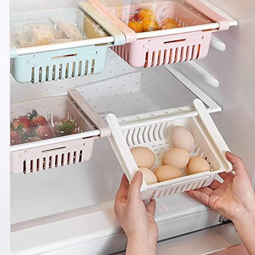 HapiLeap kühlschrank Schubladen, Einstellbare Lagerregal Kühlschrank...