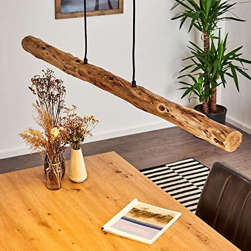 LED Pendelleuchte Winterthur, dimmbare Hängelampe aus Metall/Holz in...