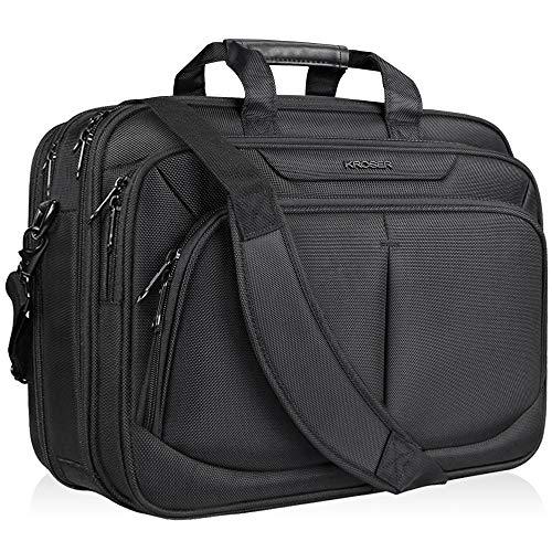 KROSER Laptop Tasche 17,1 Zoll Business Aktentasche Passt Bis Zu 17...
