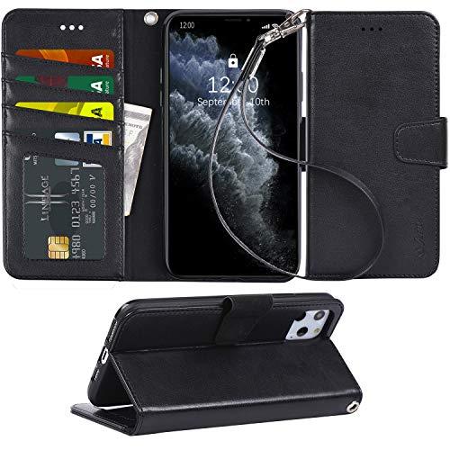 Arae Schutzhülle für iPhone 11 Pro Max mit Kreditkartenfach und...