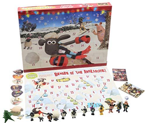 Shaun the Sheep Weihnachts Adventskalender Wallace and Gromit Enthalt...