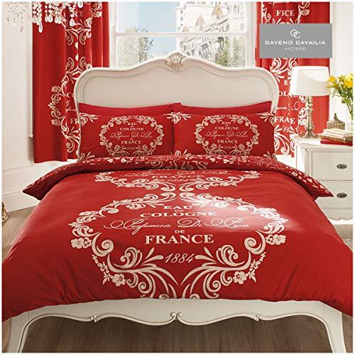 Gaveno Cavailia Premium Script Bettbezug, wendbar, weich und...