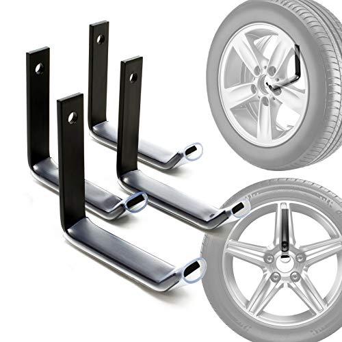 Reifenhalter Wandhalterung für 4 Reifen Zubehör für Reifen...