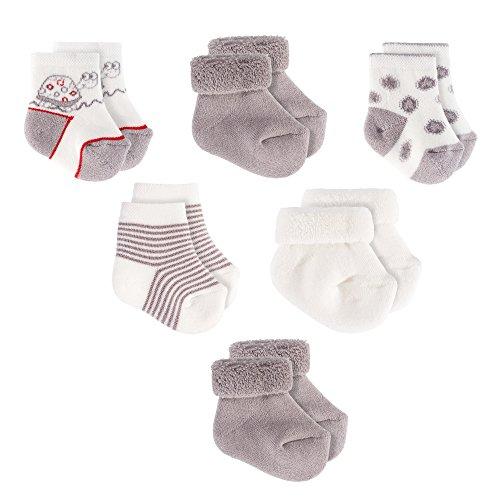 Jacobs Babymoden Baby Socken/Erstlings-Söckchen/Erstlingssocken - 6er...