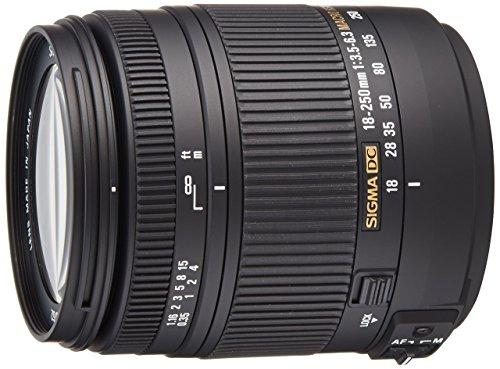 Sigma 18-250 mm F3,5-6,3 DC Macro OS HSM Objektiv (62 mm...