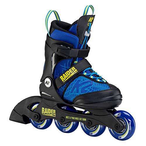 K2 Inline Skates RAIDER PRO Für Jungen Mit K2 Softboot, Blue -...