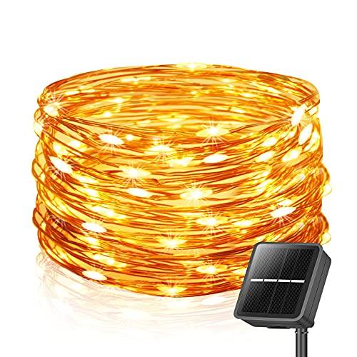 Solar Lichterkette Außen, 26M 240 LEDs Lichterketten Aussen,...