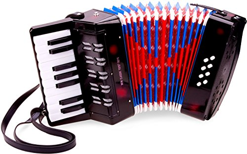 New Classic Toys - 10057 - Musikinstrument - Großes Akkordeon mit...