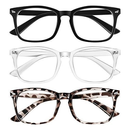Blaulichtfilter Brille, Blaufilter Brille für Damen und Herren,Blaue...