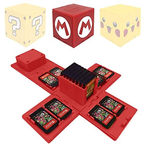 VANDA Etui kompatibel Für Nintendo Switch - Passend für bis zu...