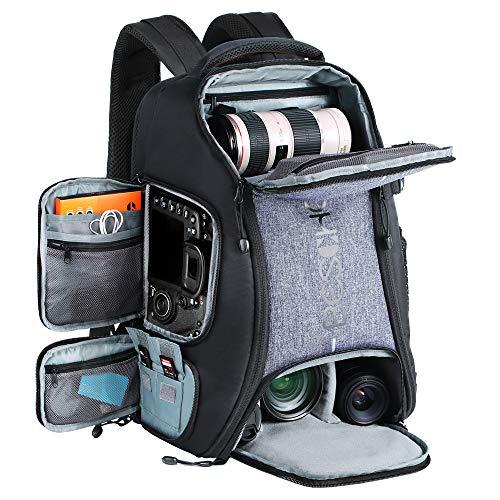 Beschoi Kamerarucksack wasserdicht Fotorucksack für Canon Nikon Sony...