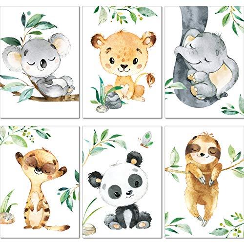 LALELU-Prints   A4 Bilder Kinderzimmer Deko Mädchen Junge  ...