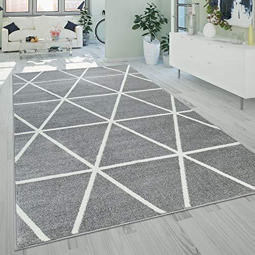 Paco Home Wohnzimmer Teppich Moderne Pastell Farben Skandinavischer...