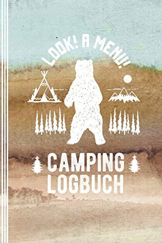 Camping Logbuch: Camper Wohnwagen Zelten Reisetagebuch - Wild Campen...