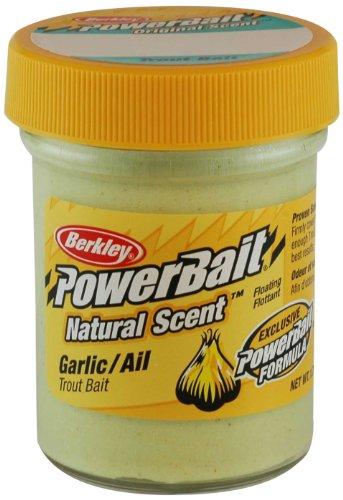 Berkley PowerBait Forellenköder mit natürlichem Duft, Knoblauch, 50...