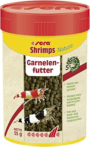 Sera shrimps Nature 100 ml das Granulat mit u.a. Spirunlina und...