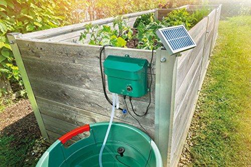 Solar Bewässerungssystem Waterdrops Komplettset Pflanzenbewässerung...