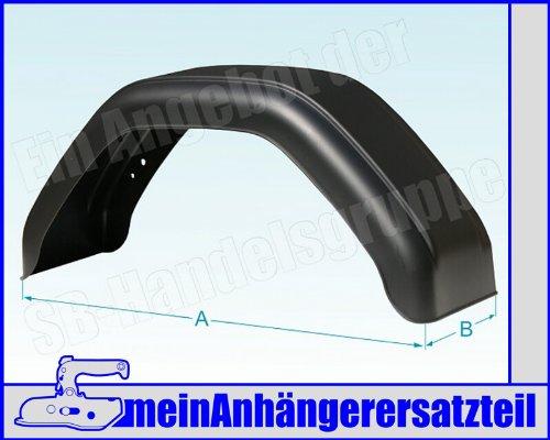 Kunststoff Schutzblech Kotflügel 220x750mm / 22x75 cm für Pkw...