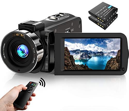 Videokamera Camcorder1080P FHD 30FPS 36MP IR Nachtsicht YouTube...