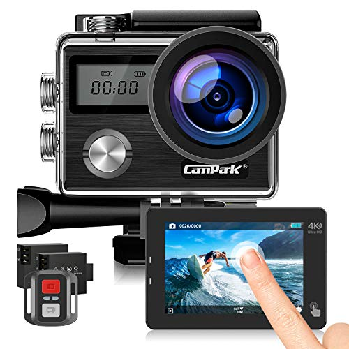 Campark X20 Action Cam 4K 20MP WiFi Touchscreen Sport Kamera...