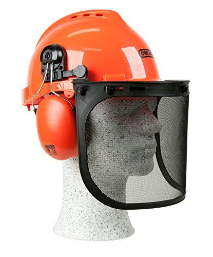 Oregon Yukon Kettensägen-Sicherheitshelm mit Gehörschutz und...