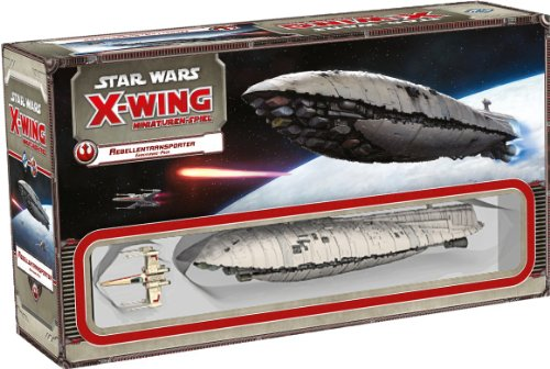 Asmodee HEI0414 - Star Wars X-Wing - Rebellentransporter...