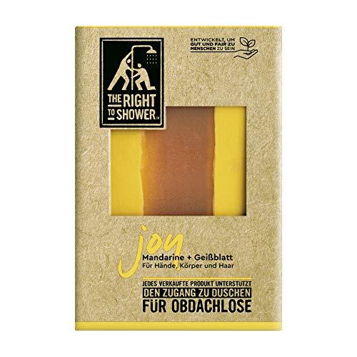 The Right To Shower Seife Joy Seifenstück für Hände, Körper und...