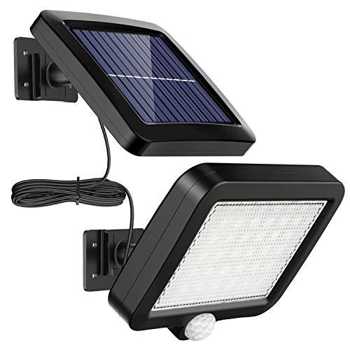 Solarlampen für Außen, MPJ 56 LED Solarleuchte Aussen mit...