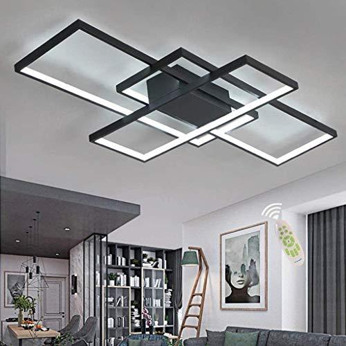 XIN'S LED Deckenleuchte Moderne Dimmbare Wohnzimmerlampe Deckenlampe...