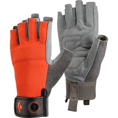 Black Diamond CRAG HALF-FINGER GLOVES, Robuster Halbfinger-Handschuh...